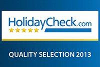 Holidaycheck Quality Selection 2013